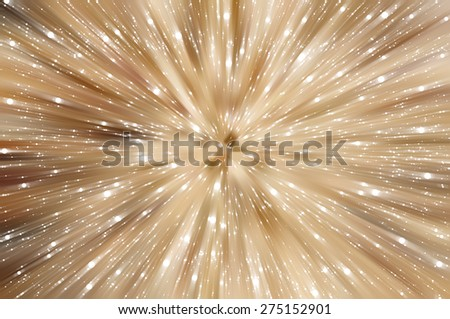 abstract background. explosion of gold lights background
