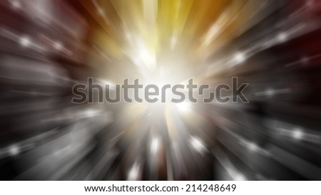 abstract background. explosion of multi-coloured  lights background - stock photo