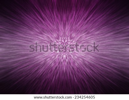 abstract background. explosion star on violet