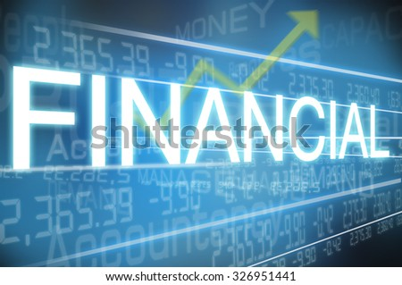 Abstract background f financial.