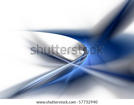 Abstract background, fantasy shape - stock photo