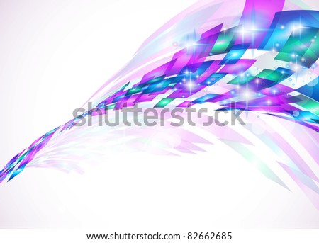 Abstract Background for business corporate flyers, elegant and original covers or advertising posters. - stock photo