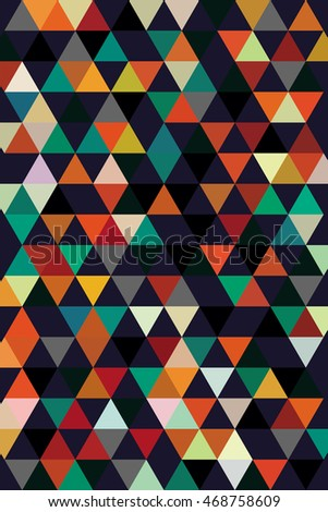 abstract background for cover from dark and bright triangles