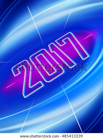 abstract background for design in New Year