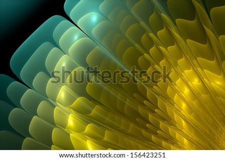 Abstract background. Fractal - stock photo