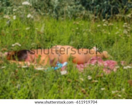 229 Naked Woman Sunbathing Beach Photos - Free & Royalty