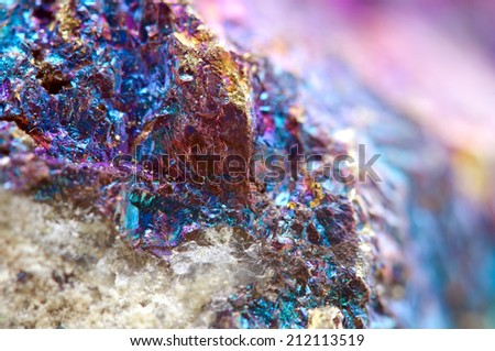 Abstract background from a metal mineral. Rather unique macro photo, for your successful business design. Extreme closeup. Macro - stock photo