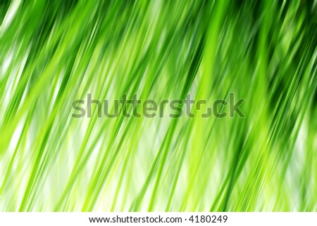 Abstract background from blades, grass in motion,generated