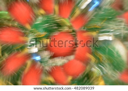 Abstract background from Christmas decoration