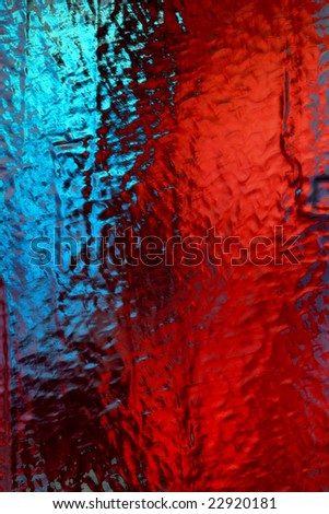 Abstract background from glass