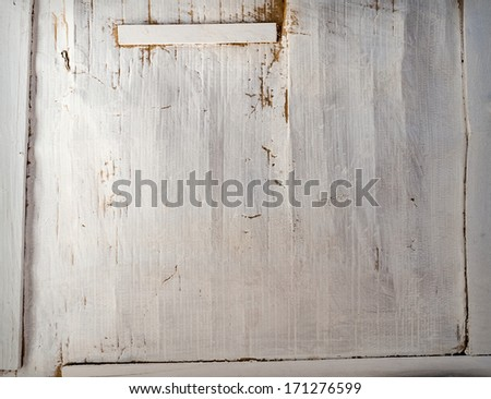 Abstract background from grunge wall painted white - stock photo