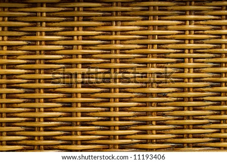 Abstract background from natural rattan. Handmade weaving. - stock photo