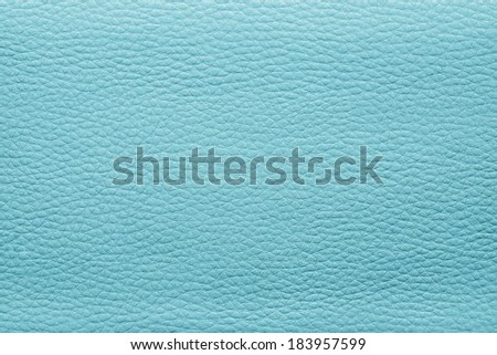 abstract background from the painted texture of skin and leather fabric turquoise color - stock photo