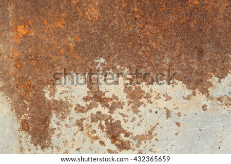 Abstract background from the zinc plate - stock photo