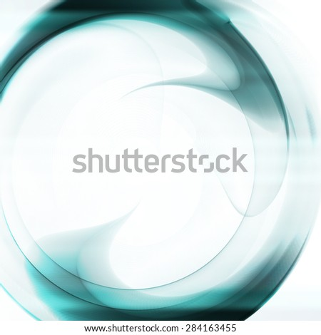 Abstract  background, futuristic wavy illustration  - stock photo