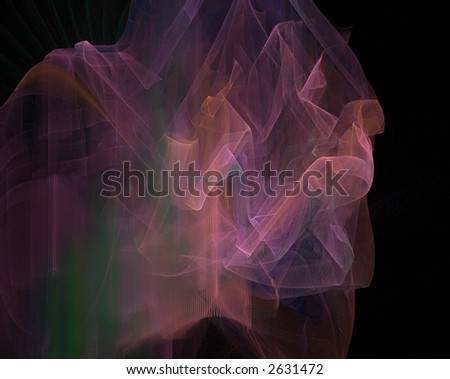 abstract background generated fractal
