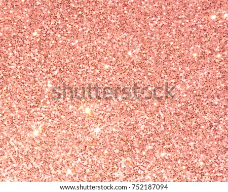 Abstract Background Glitter Bling Vintage Lights. Silver And Light Pink Gold  Bright Design Backdrop For