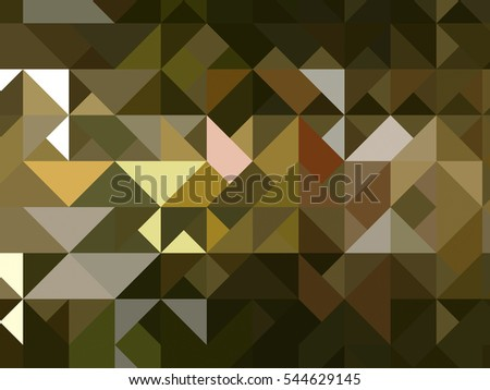 abstract background. gold mosaic. illustration digital.