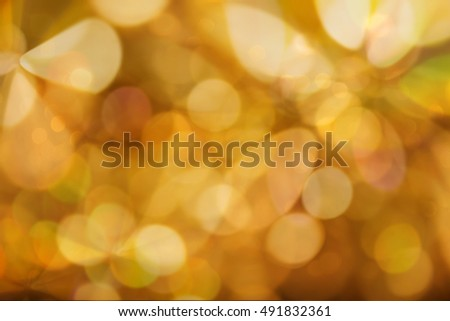 Abstract background golden light celebration event night Xmas theme