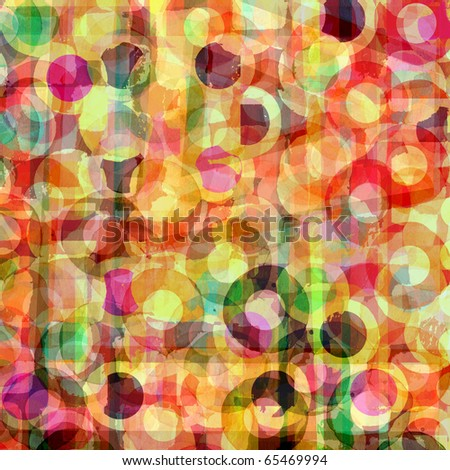 abstract background graphic design circles - stock photo