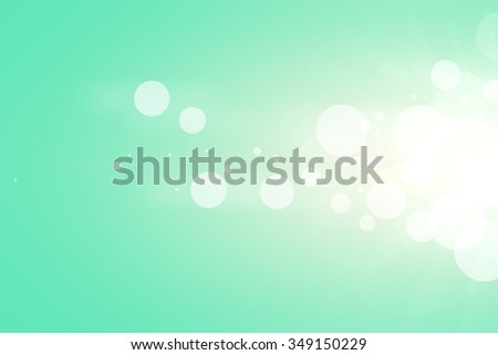 abstract background green bokeh. vintage background
