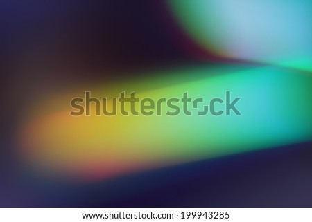 Abstract background, green rays of light - stock photo