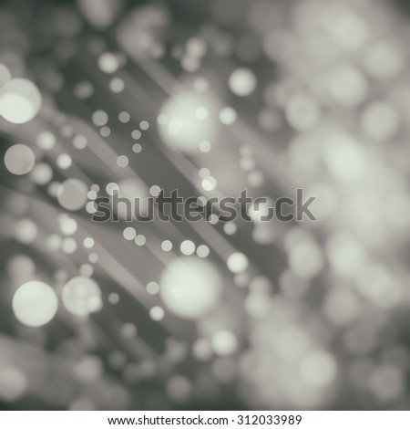 abstract background grey bokeh circles. Beautiful background with particles.