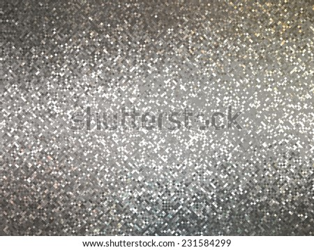 abstract background. grey mosaic - stock photo