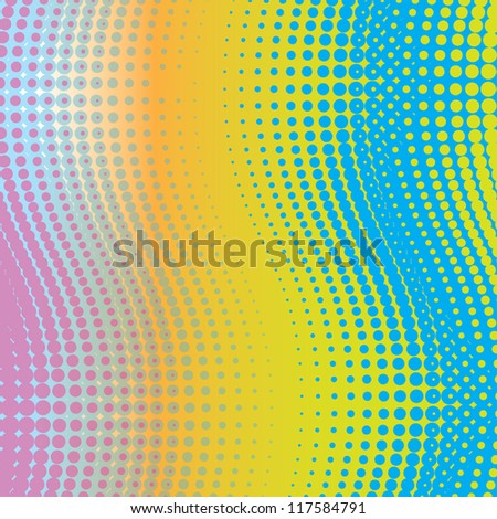 abstract background halftone effect (vector version also available in my gallery) - stock photo