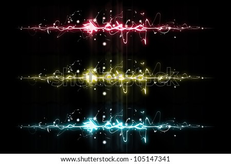 Abstract background heart beats cardiogram - stock photo