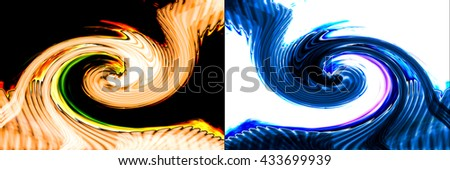 Abstract background illustration  - stock photo