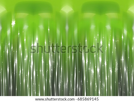 Abstract background illustration beautiful green glitter.