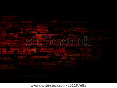 abstract background illustration, circuit electronic technology - stock photo
