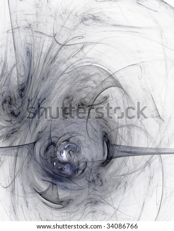 abstract background illustration - grungy fractal