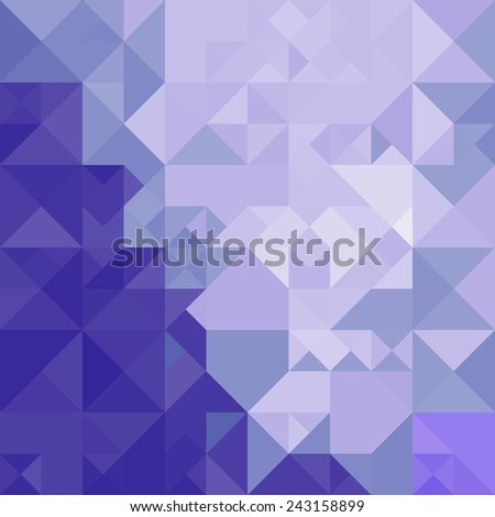 Abstract background image in blue - stock photo