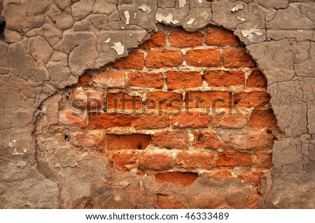 Abstract background image, texture of a brick wall