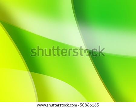 abstract background in a yellow and green gradient - stock photo