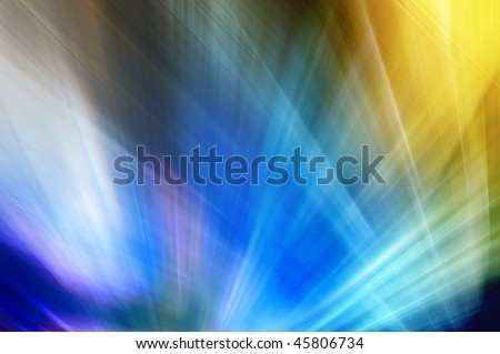 Abstract background in blue and yellow tones. - stock photo