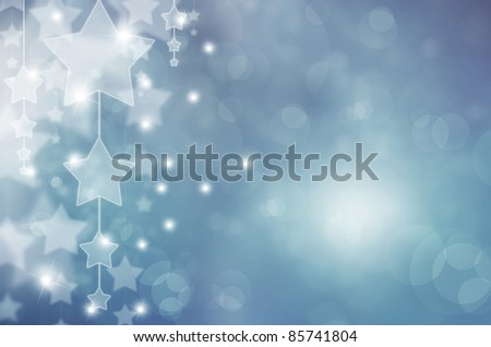 Abstract background in blue tones - stock photo