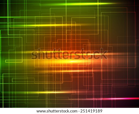 abstract background in bright color