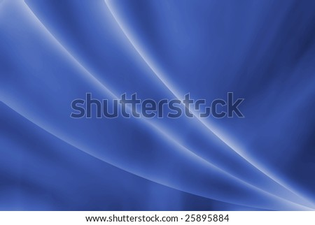 Abstract background in deep blue with white rays