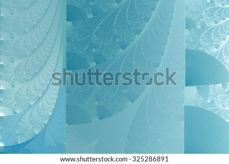 abstract background in light blue tones with interesting geometric pattern - stock photo