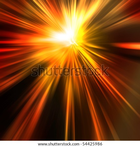 Abstract background in orange, yellow and red tones. - stock photo