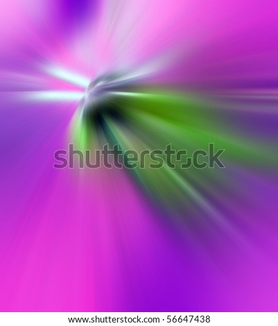Abstract background in pink, purple and green tones.