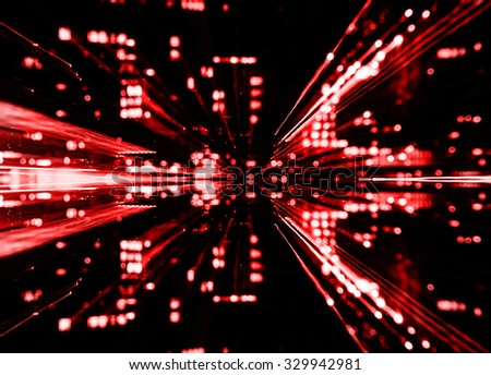 Abstract background in red - stock photo