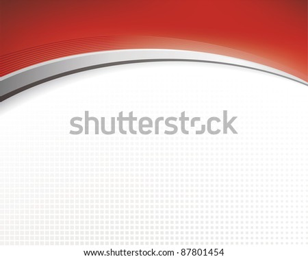 Abstract background in red color - raster version - stock photo