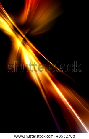 Abstract background in red, orange and yellow tones. - stock photo