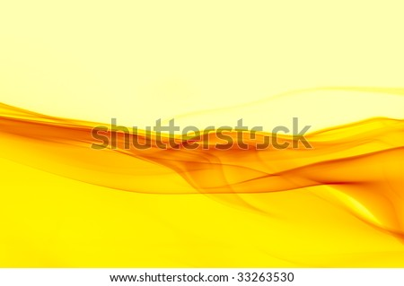abstract background in shades of yellow - stock photo