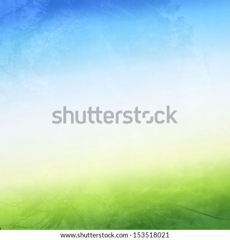 abstract background in the colors blue, white and green - stock photo