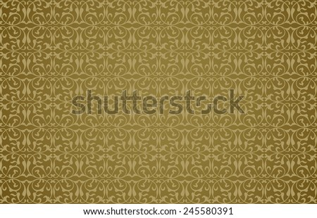Abstract background in the form of a pattern from decorative elements - stock photo